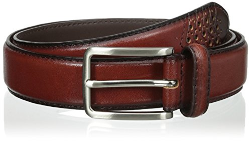 (Stacy Adams Men's 32mm Burnished Leather Belt)