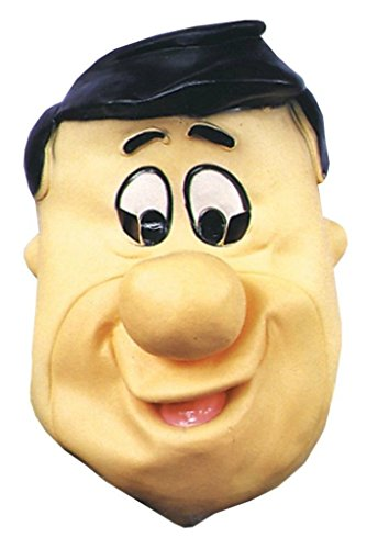 Fred Flintstone Cartoon Deluxe Party Latex Adult Halloween Costume Mask (Fred Flintstone Superhero)