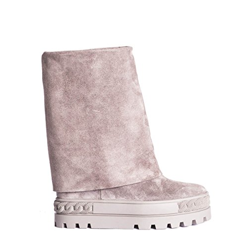 Casadei Women's 2S706E080RENN00A Grey Suede Ankle Boots largest supplier cheap price buy cheap geniue stockist best store to get sale online discount shop for nicekicks for sale Mrm4nKGXq