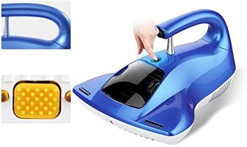JJLL Aspirateur sans Fil de Voiture, Petits appareils ménagers Lit stérilisation UV Main Tenue Tapis Bleu (30x28x19cm)