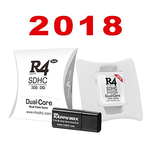 Price comparison product image 2018 Version SD SDHC Dual Core Card for 3DS,  NDSiXL / LL,  NDSi , NDSL,  NDS,  DSI,  2DS, New 3DS XL, New 2DS XL (White)