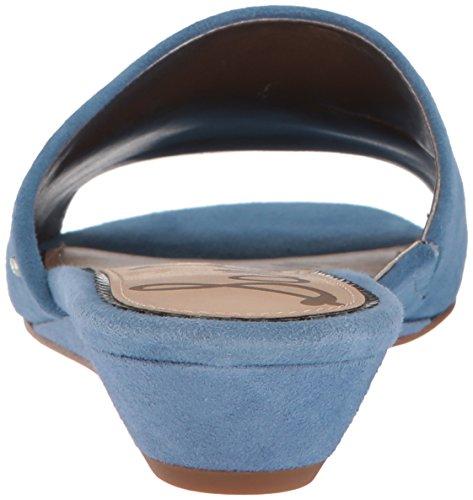 Destalonado Edelman Denim Azul Zapato Mujeres Talla Sam dq6wCtSt