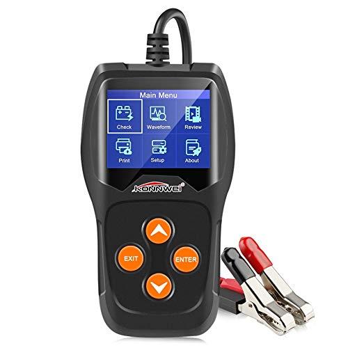 SEN Kw600 12V Car Battery Detector Battery Car Battery Detector Car Battery Testor Black: Amazon.co.uk: Kitchen & Home