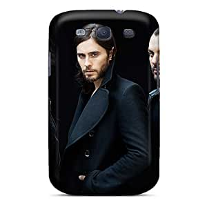 SherriFakhry Samsung Galaxy S3 Scratch Protection Phone Covers Customized Colorful 30 Seconds To Mars Band 3STM Pattern [CzC13435VnYp]