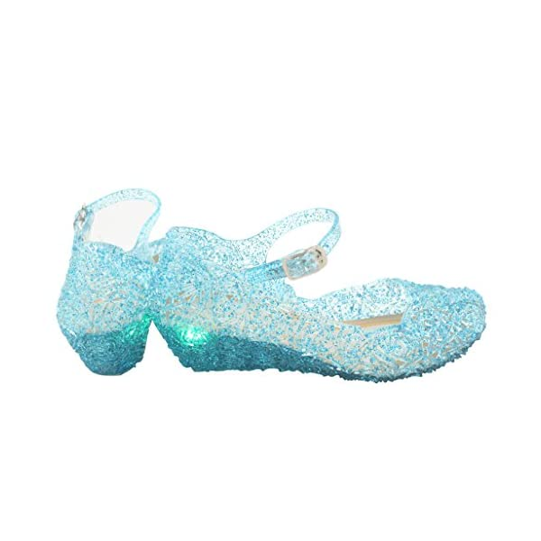 637317fcbc7 Kontai Jelly Sandal for Girls with LED Light Heel Princess Girls ...