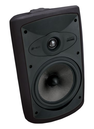 Niles OS7.5 Black (Pr) 7 Inch 2-Way High Performance Indoor Outdoor Speakers (FG00997) (Niles Indoor Outdoor Speakers)