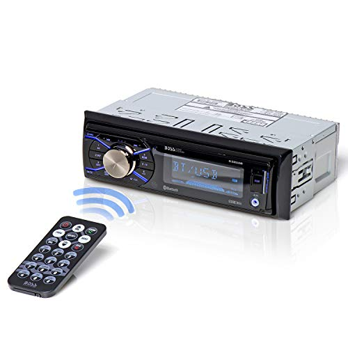 BOSS Audio Systems 632UAB Car Stereo - Single Din, Bluetooth, - no CD DVD MP3 USB WMA AM FM Radio, Detachable Front Panel