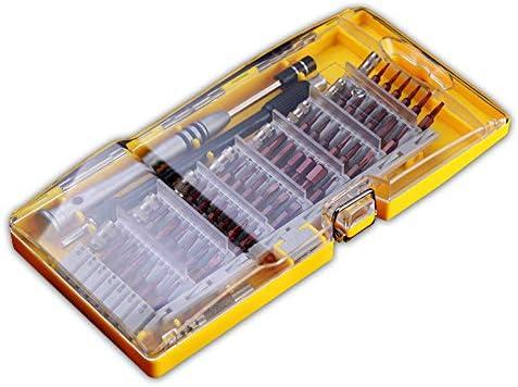 LilyAngel 60 in 1絶縁体電気技師ドライバー組み合わせセットテストペン携帯電話ドライバーマルチツール