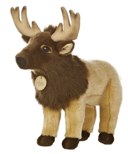 Elk Stuffed Animal<br>Approx 13.5 Inches<br>Aurora World