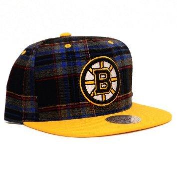 c90494b0377 Amazon.com   NHL Mitchell   Ness Plaid Snapback Hat (One Size ...
