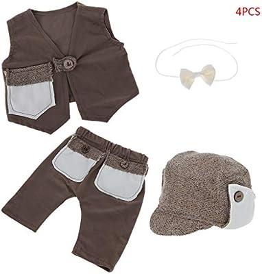 Lyguy Abrigo, Pantalones, Sombrero de bebé, Corbata, niños ...