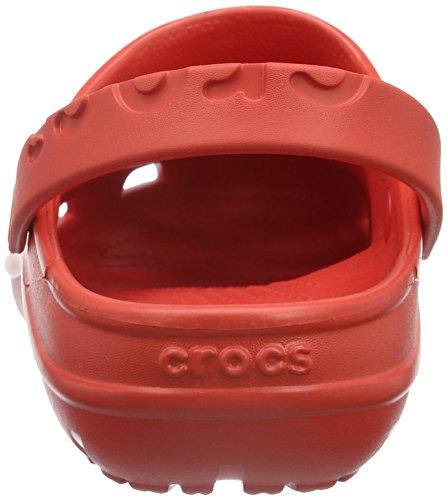 Sabots Rouge Mixte Flame Adulte Hilo Clog Crocs EwqnTFOzOZ