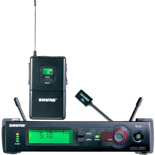 - Shure SLX14/93 Lavalier Wireless System, J3