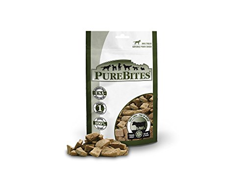 PureBites Beef Liver for Dogs, 16.6oz / 470g - Super Value Size