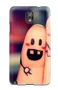 Quality Case Cover With Finger Funny Friendship Quotes Nice Appearance Compatible With Galaxy Note 3