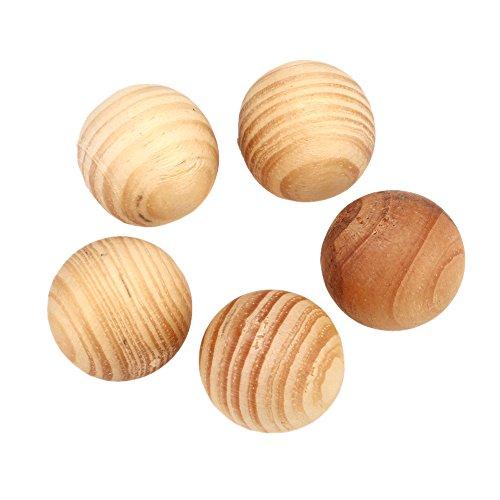 5pcs/lot Expelling Parasite Wood Camphor Ball Cedar Moth Balls Bug Repellent For Wardrobe Clothes Drawer Drop - Parasite Wood