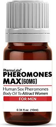 ATTRACT WOMEN! Pheromone Scented Oil (Pheromone Max) Human Sex Pheromones Maximum Potency 60mg -libido -PhermaLabs