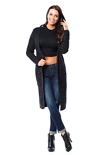 Star Fashion Gilet Charbon Femme Hollywood pS6UOqwU