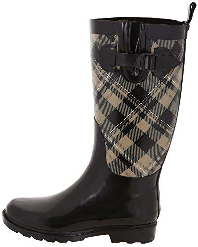 Shiny York Tall Sand New Rain Warm Rubber Capelli Ladies Boots pf4gK1MK