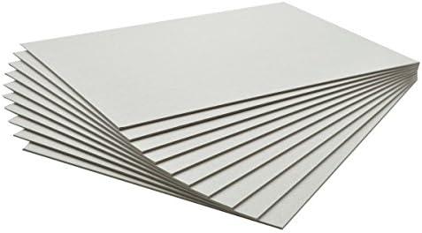 10枚 カルトナージュ グレー台紙 B5サイズ182mm×257mm (厚0.6mm)