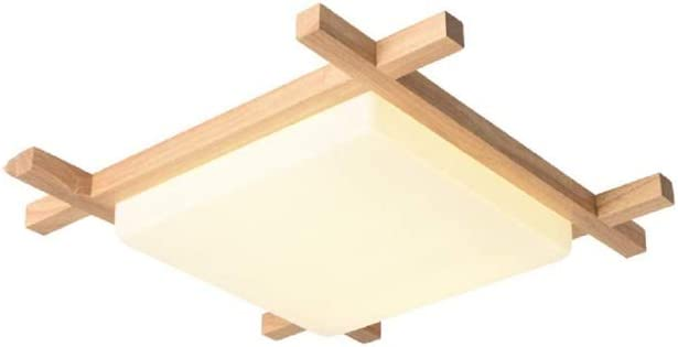 JYDQM Luz de Techo de luz Modern Square Minimalista LED en Forma de Madera Escalera acrílico Montaje en el Techo de la luz Blanca: Amazon.es: Hogar