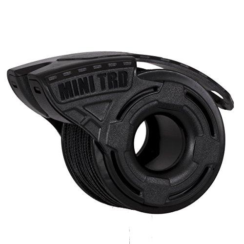 Atwood Rope MFG Micro Cord Dispenser. 125ft black 100lb test. Mini TRD