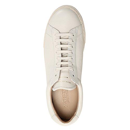 Zespa Heren Zsp4 Kalfsleren Sneakers Zsp4.npa Off White Sz 37