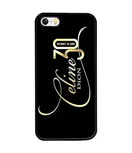 Iphone 5s Coque Case Cover, Celine Classical Brand Logo Phone Coque Case, Iphone 5 5s Coque Case Protection Image