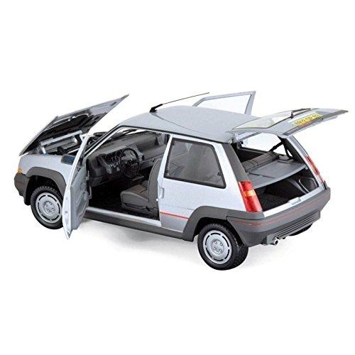 Norev NV185209 1: 18 Renault Supercinq GT Turbo 1985 - Plata: Amazon.es: Juguetes y juegos