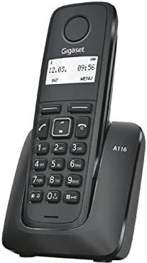 Gigaset Gigaset A116 Teléfono inalámbrico: Amazon.es: Electrónica