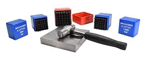 110 Piece Metal Stamping Kit | 1/16