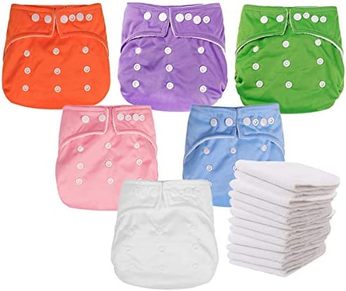 Kingrol Pack Cloth Diapers Insert product image