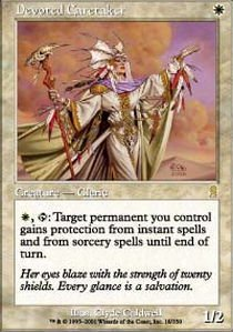 Magic: the Gathering - Devoted Caretaker - Odyssey