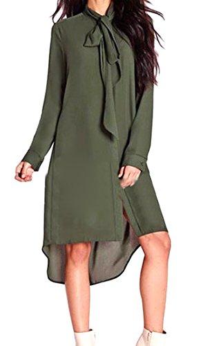Buy belted asymmetrical pocket dress - 8