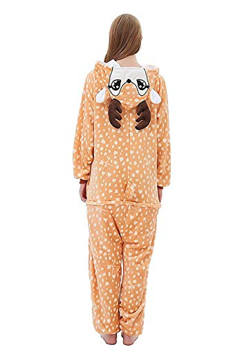 Cosplay Abyed® Cerbiatto Kigurumi Attrezzatura Pigiama Costume Halloween Anime wqPOqR