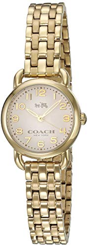 COACH Women's Delancey Gold One Size (Womens Coach Watches Silver)