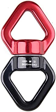 TRIWONDER Swing Swivel 30KN Micro Rotator Safety Rotational Device Hanging Accessory for Rock Climbing, Hangin