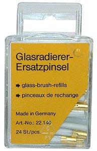 EURO TOOL (BRS-294.01) 24 Pack of Fiberglass Scratch Brush Refills