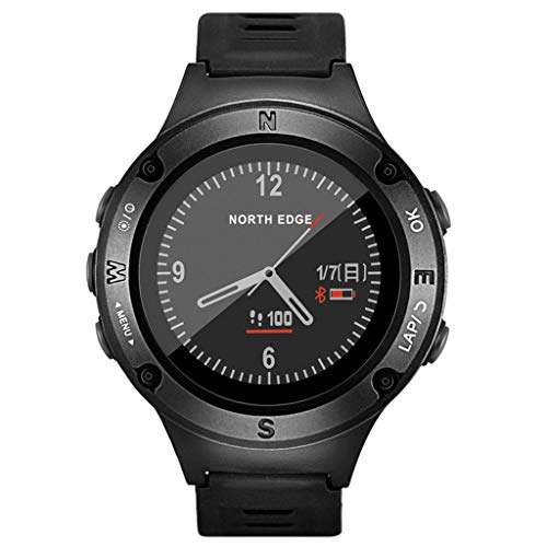 KYSZD-Smartwatch Smart Watch Bluetooth Digital Outdoor Electronic Mountaineering Sport Waterproof Multifunction Bracelet Step Counter Pedometer Calories with Heart Rate Monitor for Men Women