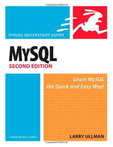 MySQL, Second Edition by Peachpit Press