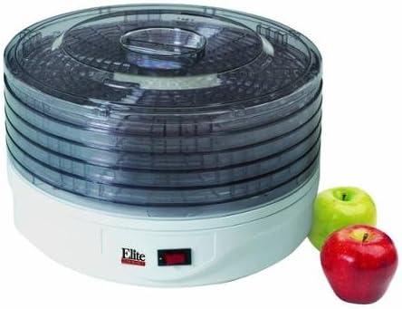 Amazon Com Maxi Matic Elite Gourmet 5 Tray Rotating Food