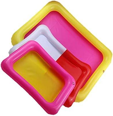 Plateau de sable gonflable Ch/âteau Table mobile PVC Bac /à sable Plateau sensoriel Jouet int/érieur dr/ôle Jouets Plateau de la piscine pour les enfants