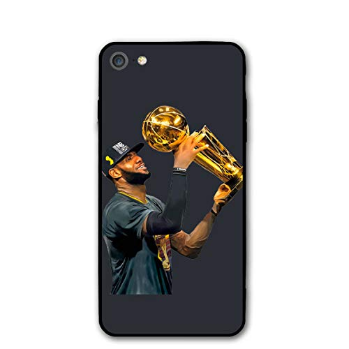 Jam China (Favorite Basketball Player iPhone 8 Case Leb-Ron Jam-ES Champions Phone Case Cover Suitable for iPhone 7/8)