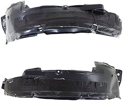 fits 2008-2012 ACCORD 4door Front Bumper DRIVER Inner Fender Splash Shield Liner