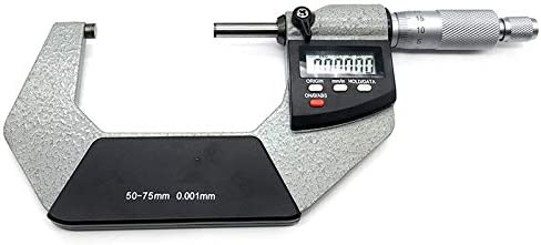 50-75mm 25-50mm Details about  /4pcs Outside Micrometers Thickness Gauge 0-25mm 75-100mm