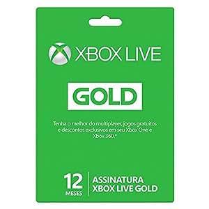 Live Gold - 12 Meses - Xbox