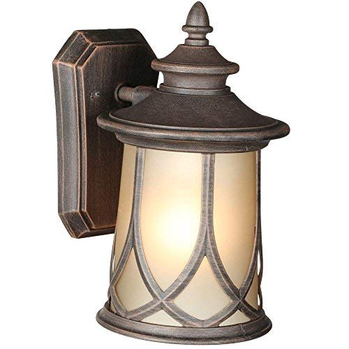 Light Bulb Collection - Progress Lighting Resort Collection 1-light Outdoor Aged Copper Wall Lantern