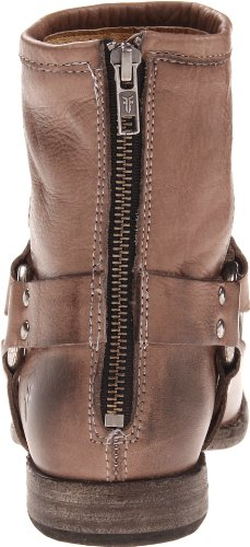 Stivaletto Phillip Harness Nero Morbido Pelle Vintage-76870