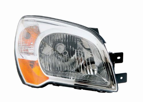 Depo 323-1122R-AS Kia Sportage Passenger Side Composite Headlamp Assembly with Bulb and Socket