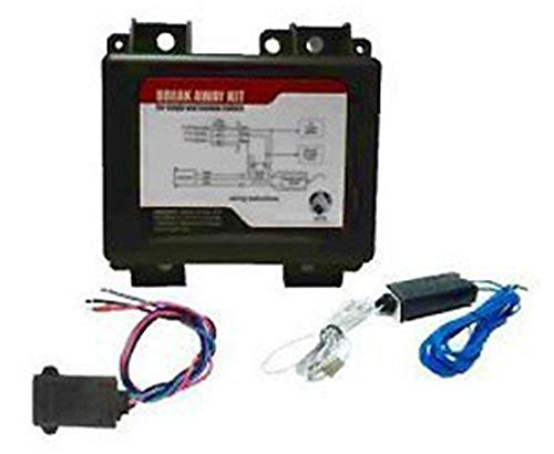 - Universal Power Group UPG 86113 Black Breakaway Kit with Charger, Switch and Battery